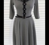 Стильное трикотажное платье!!!44-54раз.