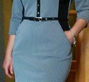 Стильное трикотажное платье!!!
