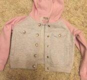 Кофта детская Levi's розовая
