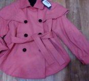 Оригинальное деми пальто