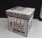 Пуф-ящик для хранения