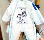 Детский комбенизон трансформер на мальчика .