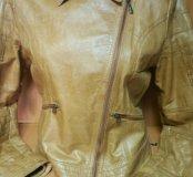 Женская кожаная куртка Oliver 44р.