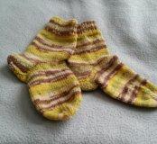 Носки вязанные женские