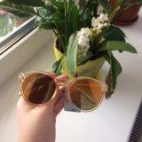 Новые очки(стекла зеркальные)
