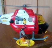 Вертолет полицейский на батарейках
