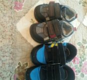 Ботиночки +кроссовки