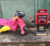 Мотоцикл и заправка