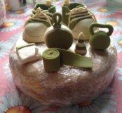 Торт на годик (декорации)