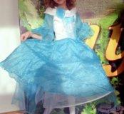 Платье на девочку от 4-6 лет