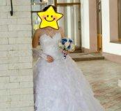Свадебное платье +подарки