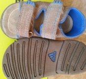 Замшевые сандали Adidas