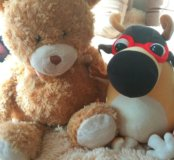 Мягкие игрушки( 3 шт. За 500)
