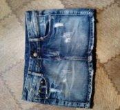 Юбка джинсовая новая размер 42 s