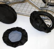 Чехлы для колёс коляски