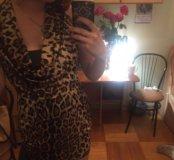 Новое леопардовое платье