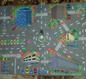 Игровой коврик 120×40