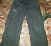 Утепленный брюки на весну