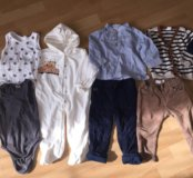 Пакет фирменной одежды на рост 80