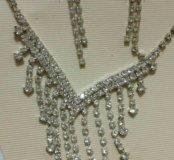 Комплект серьги и ожерелье
