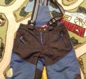 Зимние штаны 86-92см