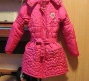 """Пальто для девочки """"Маленькая Фея"""""""