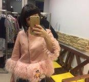 Куртка мех ламы