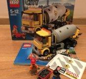 Конструктор lego City 60018 Бетономешалка б/у
