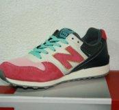 Кроссовки new balance 996 pink 36-40