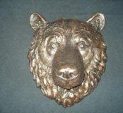 Барельеф на стену медведь