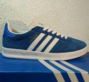 Кроссовки adidas gazelle blue 40-44