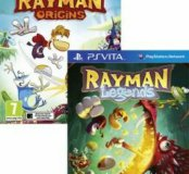 PS VITA RAYMAN ORIGINS+LEGENDS