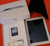 Планшет IPad 4 Wi-Fi Cellular 16GB White в чехле!