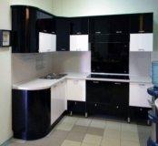 Кухня мдф глянец 2,4мх1,7м