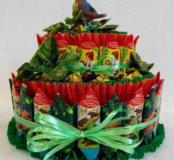 Супер тортик из конфет