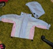 Курточка на весну 86 размер