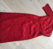 Роскошное Красное платье!