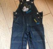Комбезизон джинсовый