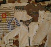 Домашняя одежда пакетом 6-12мес