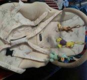 Шезлонг для малыша с рождения