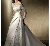 Свадебное платье прокат(в аренду)