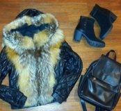 Кожаная куртка из Снежной королевы