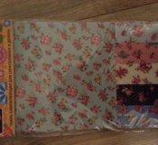 Ткань самоклеющая для скрапбукинга и декора
