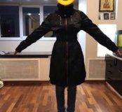 Стильное пальто-плащ