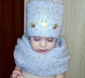 Снуд+шапка