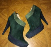 Ботинки женские + шарф