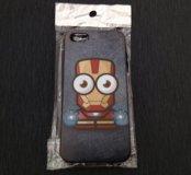 Для iPhone 5/5s Iron Man новый