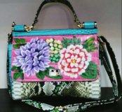 Итальянская сумка, натуральная кожа!!!