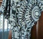 Платье женское шелковое. размер 44