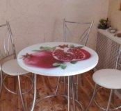 стол со стульями Новый